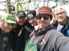 Capt Rick and NBC production crew